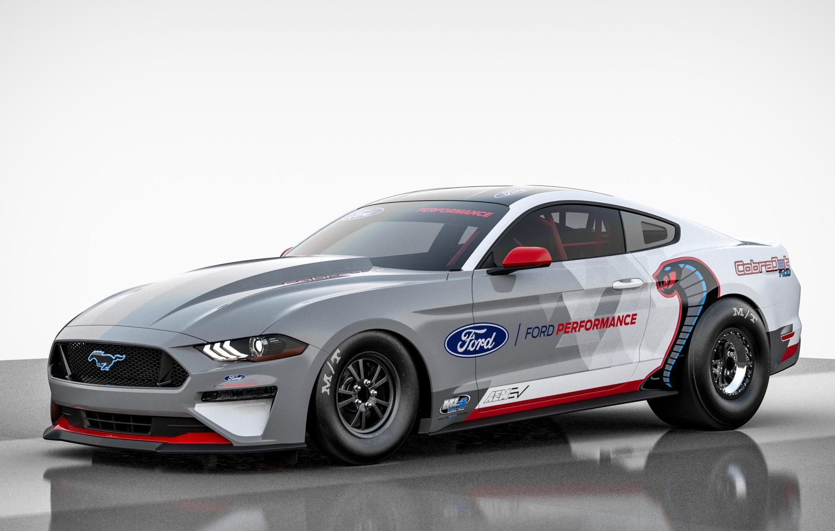 Ford apresenta o elétrico Mustang Cobra Jet